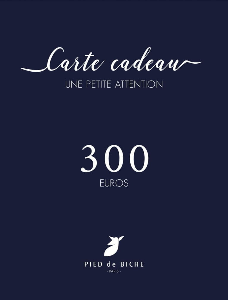 Carte cadeau 300 euros