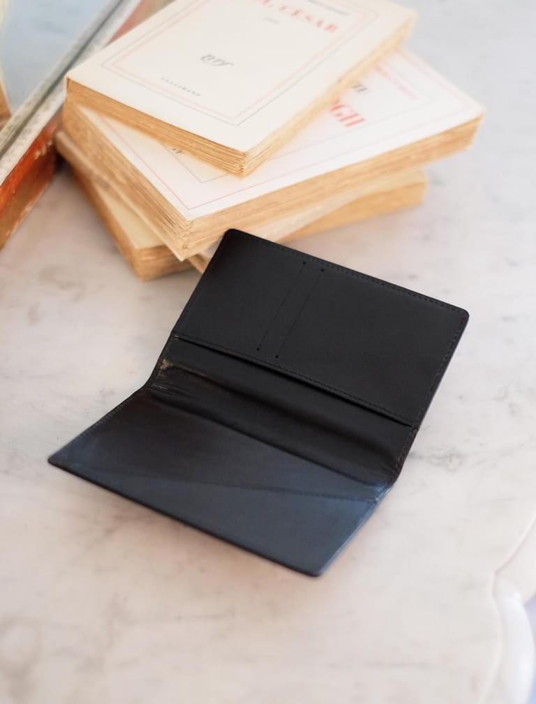 Porte-passeport - Noir