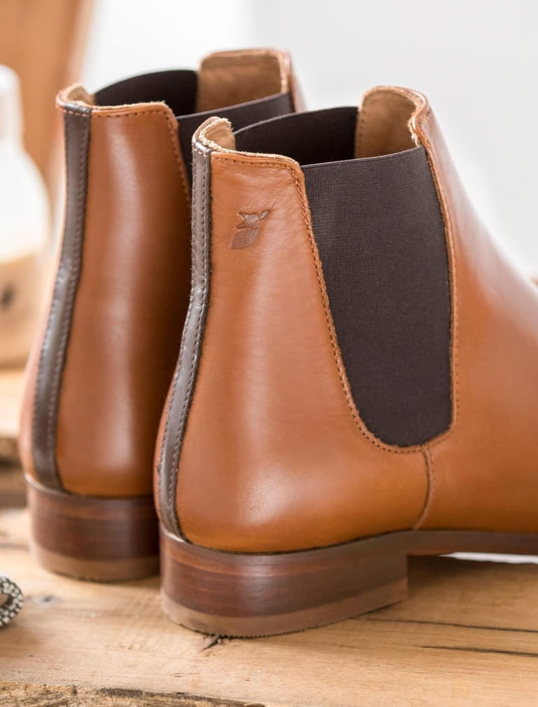 Chelsea boots - Cognac