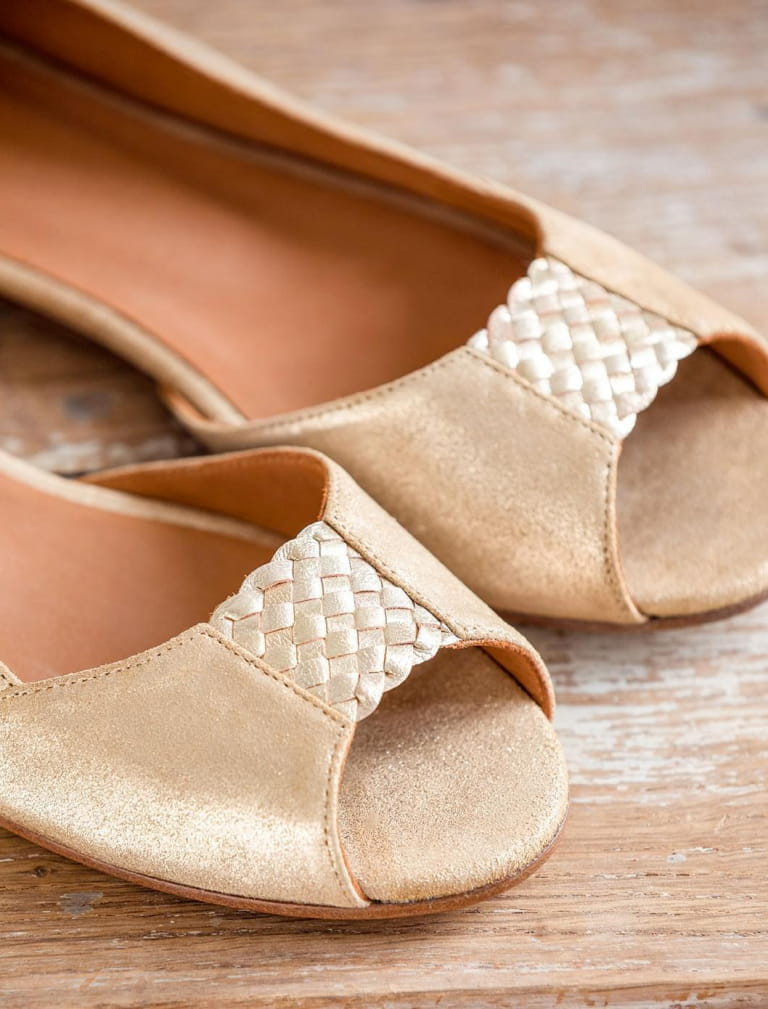 Luciana sandals - Gold