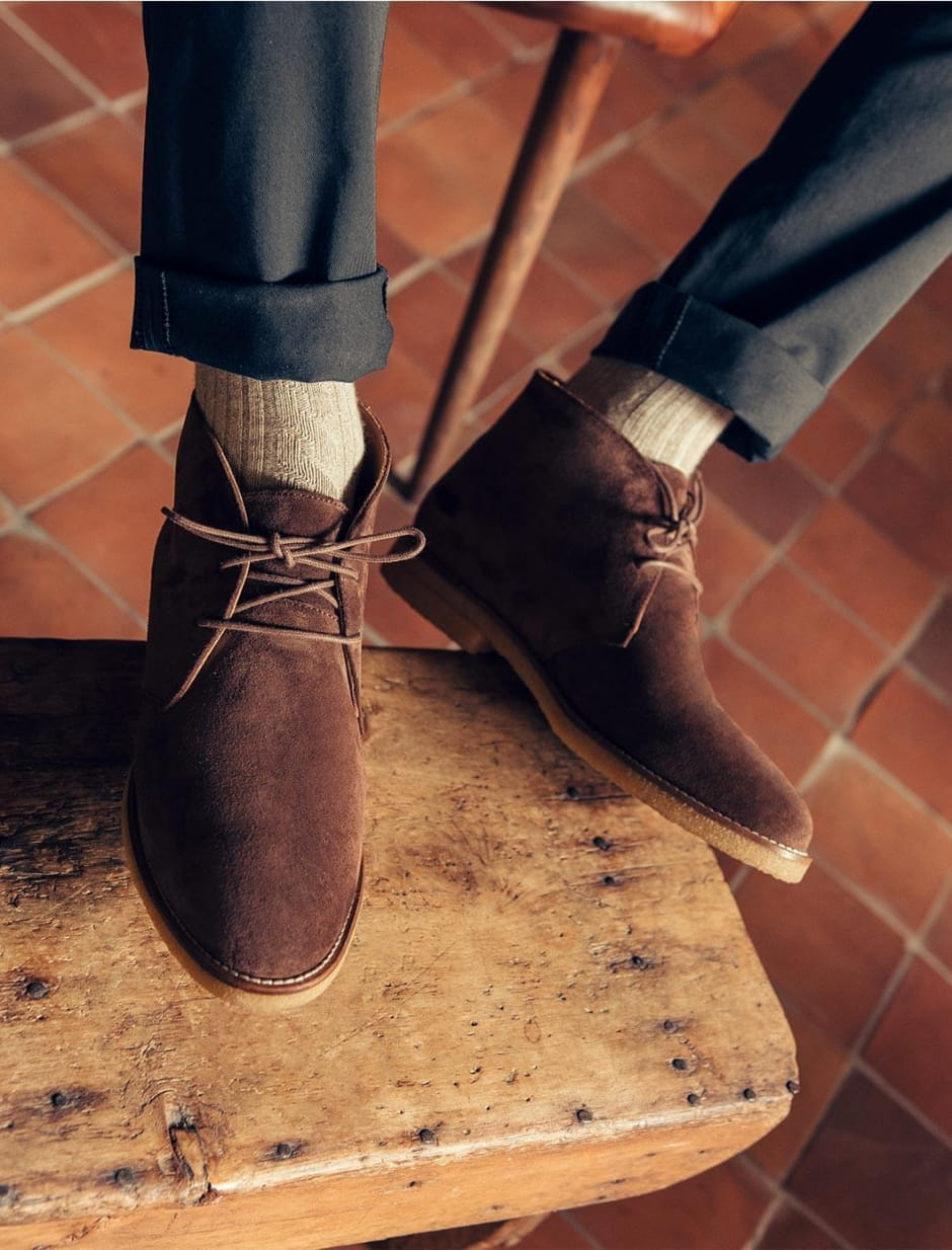 Desert Boots - Chocolate suede