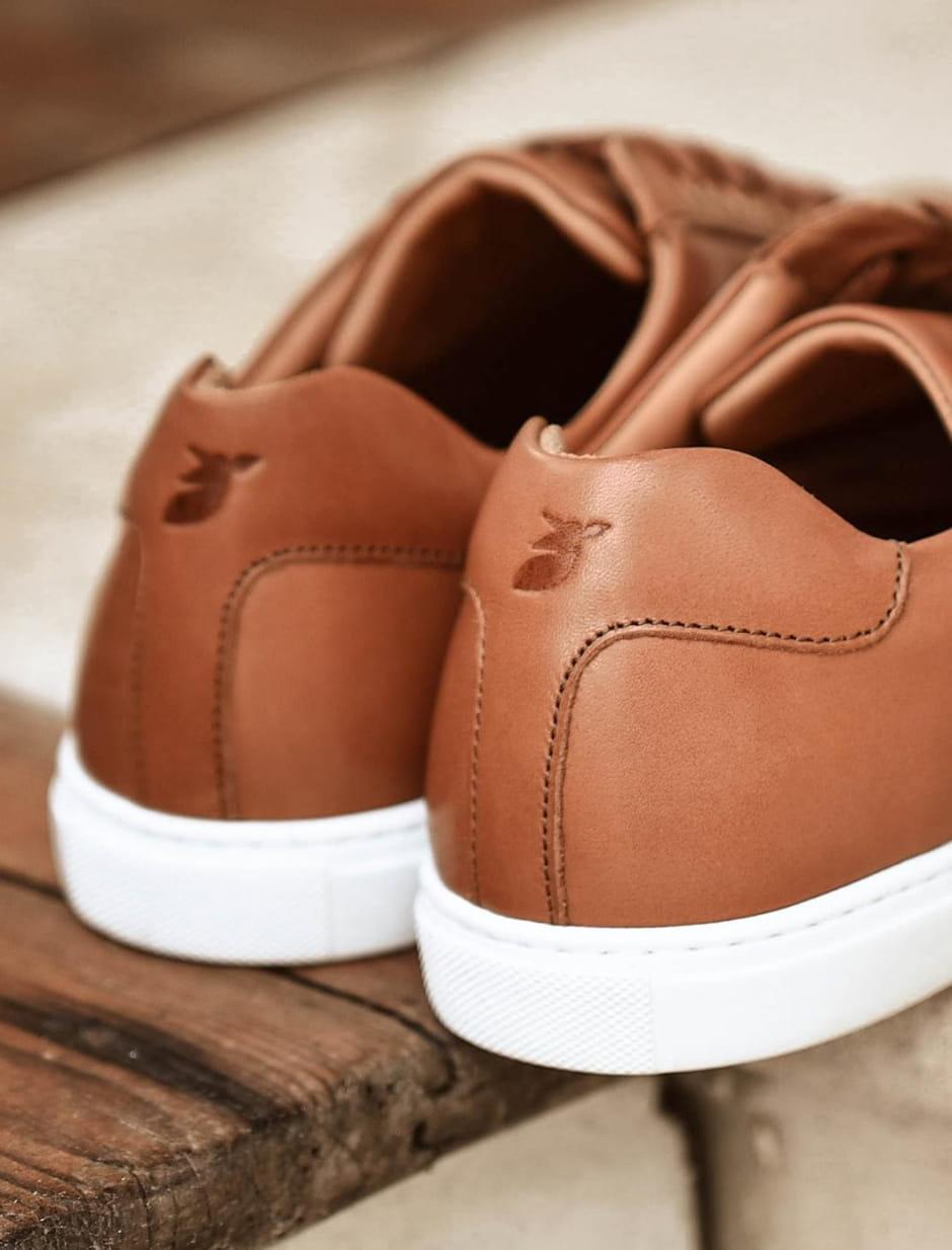 Sneakers - Cognac