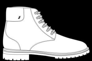 Combat boots Leah
