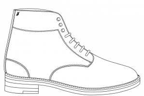 Furred Combat boots