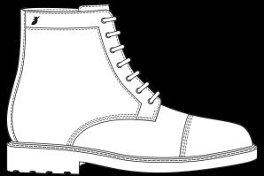 Combat boots Commando