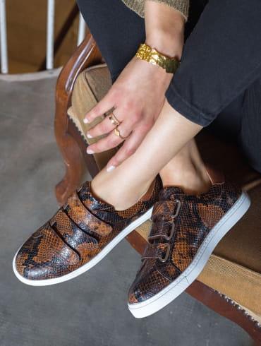 Sneakers Alice - Reptile