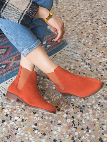 Chelsea boots Anne - Terracotta