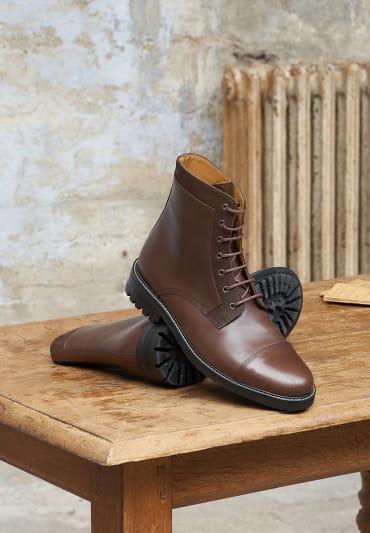 Combat boots Commando - Ébène