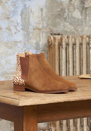 Anne Chelsea boots - Deer