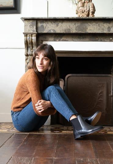 Chelsea boots Ellie - Noir