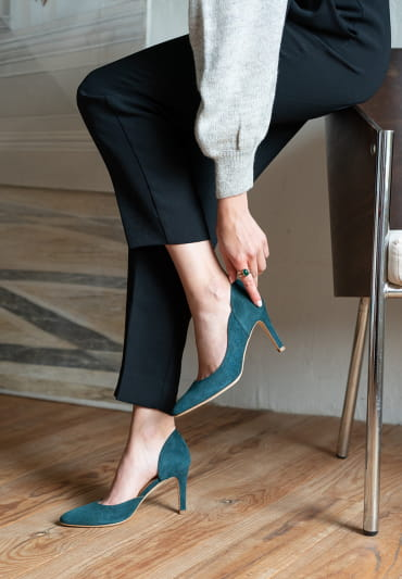 Felicia Pumps - Forest Green