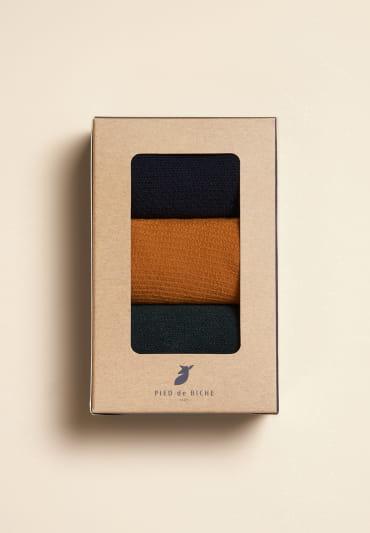Honeycomb Socks - Trio Man