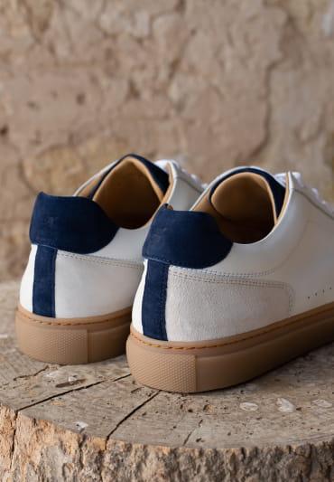 Frisco V2 - Blanc, bleu et miel