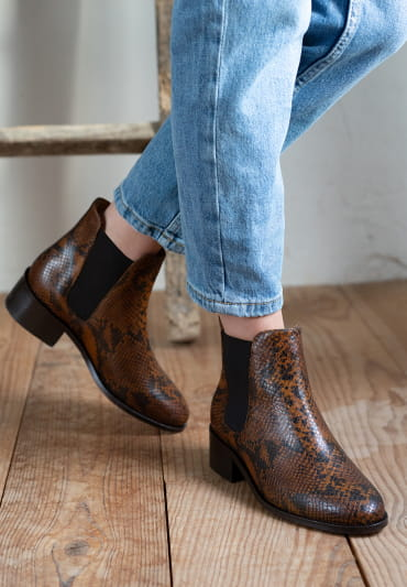 Chelsea boots Amy - Reptile