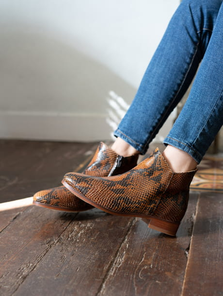 Gaëlle Ankle Boots - Reptile
