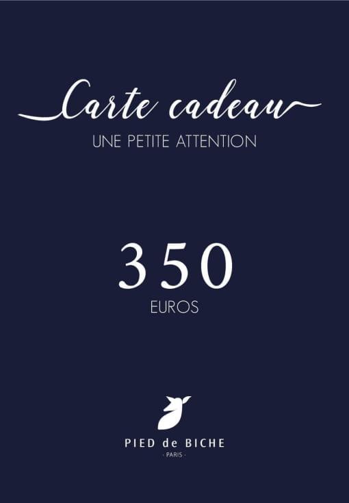 Gift card 350 euros
