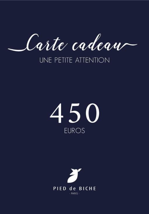 Gift card 450 euros