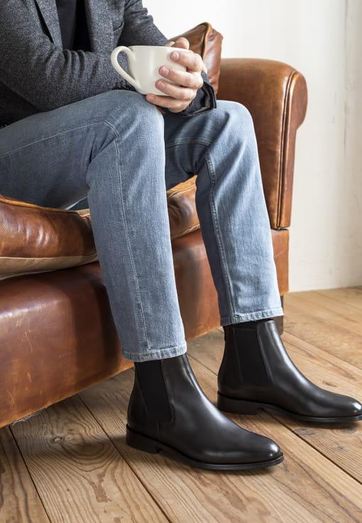 Classic Chelsea boots - Black