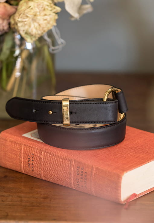 Classic belt woman - Black