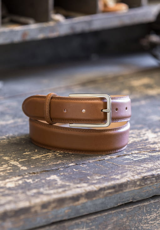 Classic belt man - Cognac