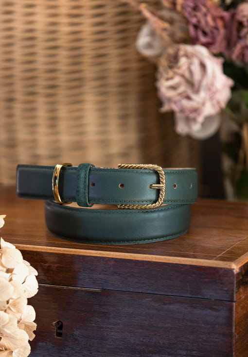 Classic belt woman - Green