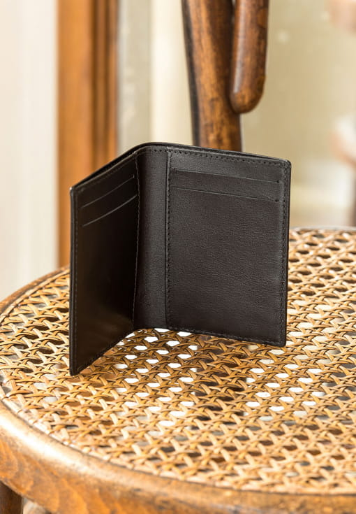 Card holder booklet - Black