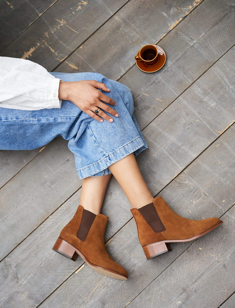Chelsea boots Amy - Nut