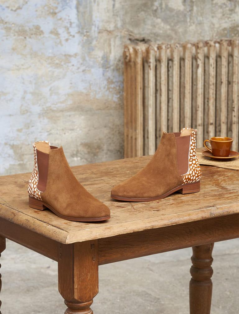 Chelsea boots Anne - Biche