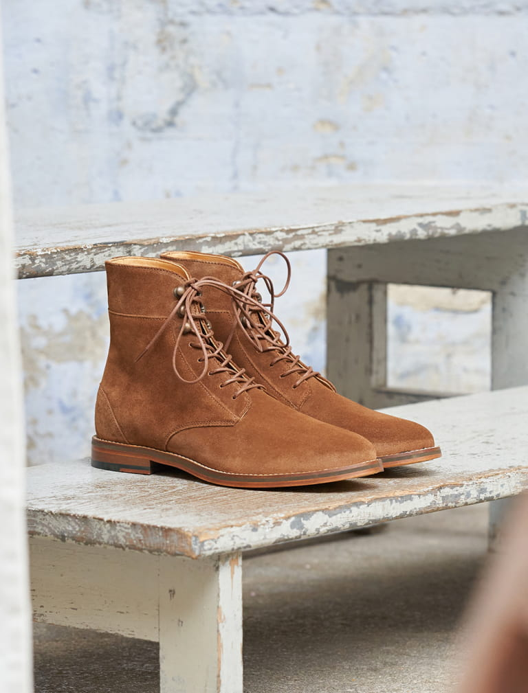 Combat boots Casual - Fawn