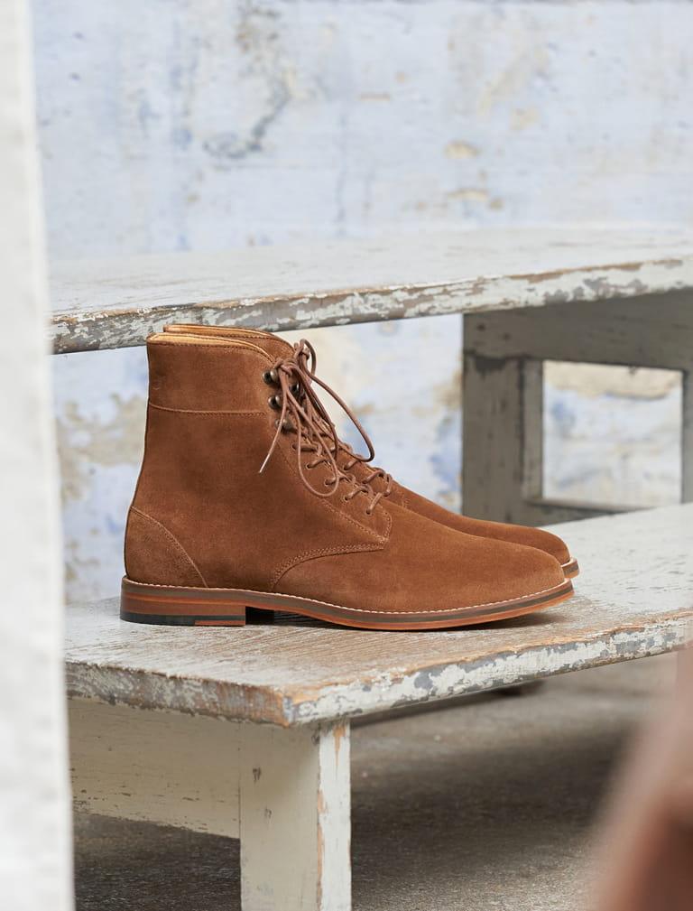 Combat boots Casual - Fauve