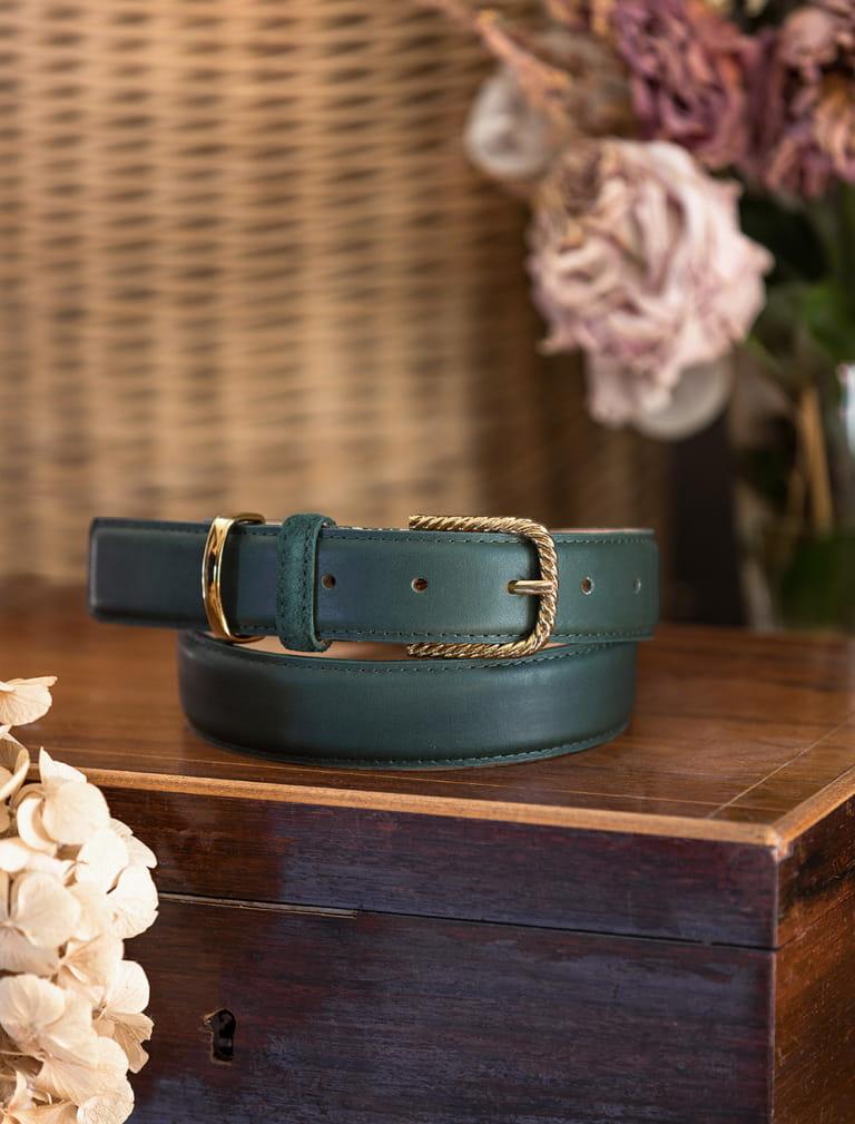 Classic belt woman - Green