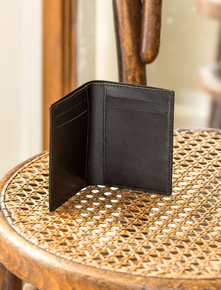 Card holder booklet - Black