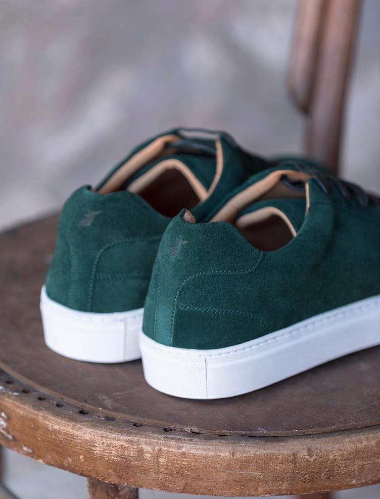 Sneakers Billy - Vert Forêt
